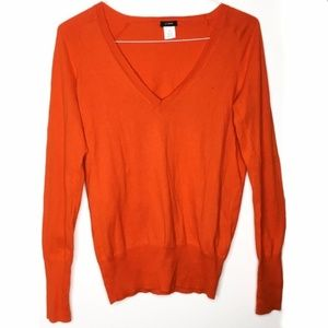 J. Crew Factory Costine V-Neck Sweater